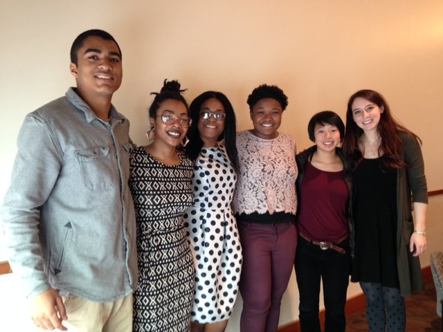 Lang Scholar Class of 2016 (left to right): Al Brooks, Ciara Williams, Efua Asibon, A'Dorian Murray-Thomas, Mariko Ching, and Michaela Shuchman.