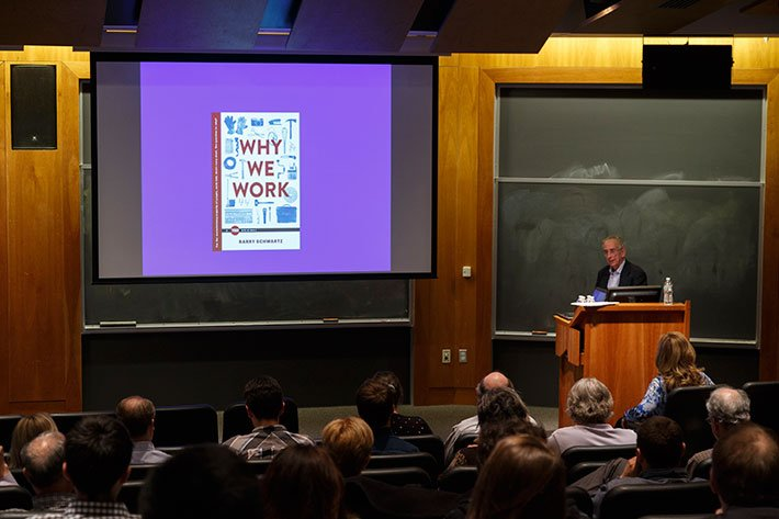 Barry Schwartz presents a SwatTalk during the 2015 Lax Conference
