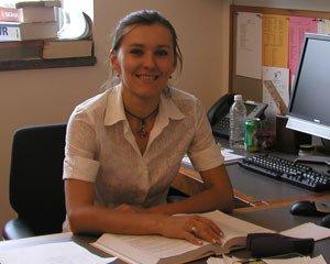 Liliya Yatsunyk, Assistant Professor, Department of Chemistry and Biochemistry, Swarthmore College