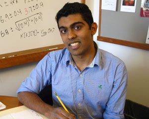 Navin Sabharwal, Class of 2014, Swarthmore College