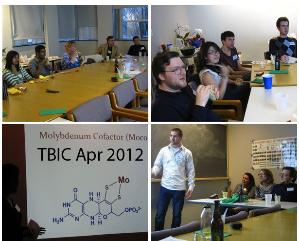 TBIC meeting on April 3, 2012 at Bryn Mawr College