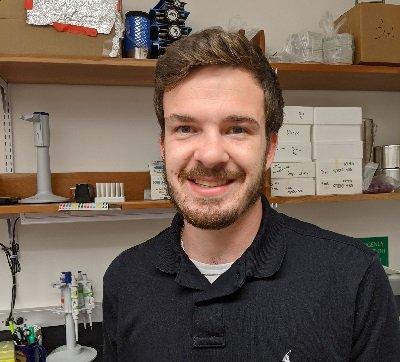 Bryce Stanhope in Yatsunyk Lab photo.