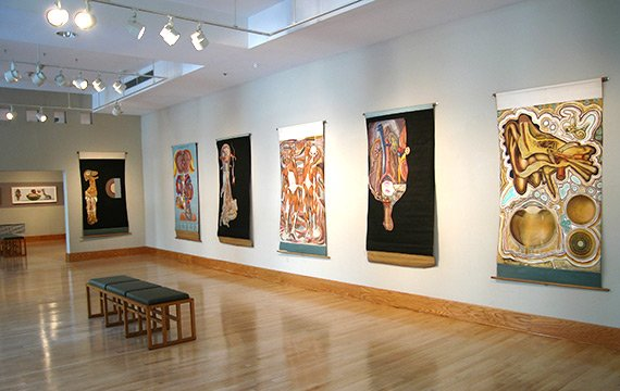 Art Galleries - Sculpture, Paintings and Drawings by