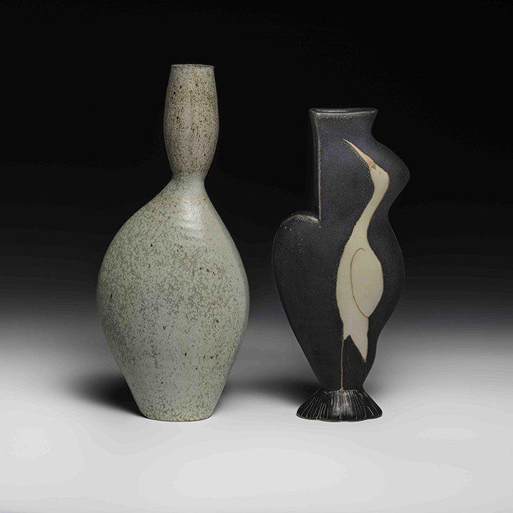 Donna Polseno and Ellen Shankin ceramics exhibition