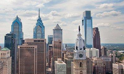Center City Philadelphia from VisitPhilly.com