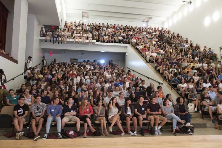 Orientation First Meeting of the Class of 2019