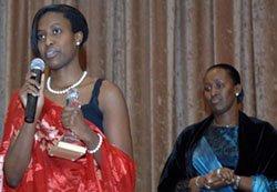 Stephanie Nyombayire '08
