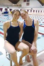 Jennie Lewis '08 and Anne Miller '10