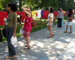 Clothesline Project 2007