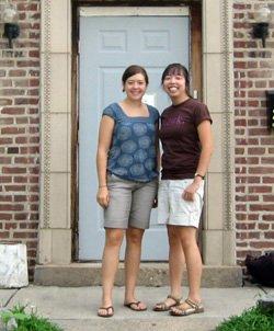 Lauren Yoshizawa '09 and Gina Grubb '10