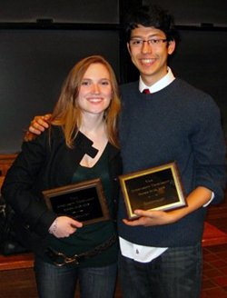 Julie Baker '09 and Cyrus Stoller '10