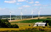 Swarthmore College sources 40% of its electricity from renewable sources