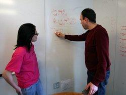 Anima Singh '08 and Richard Wicentowski