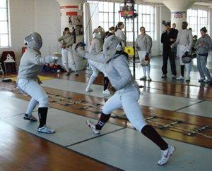 swarthmore fencing team