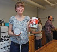 Hannah Kosman '14 by the Delaware County Daily Times