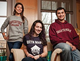 Haverford, Bryn Mawr, and Swarthmore students