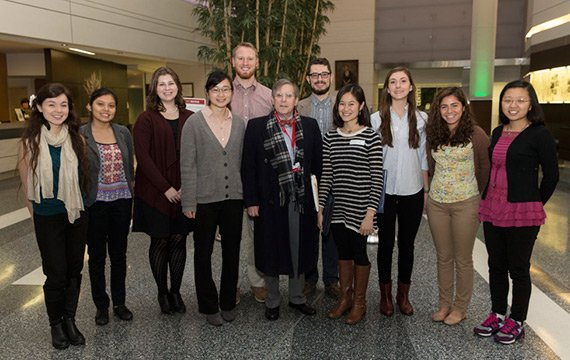 Group of student externs