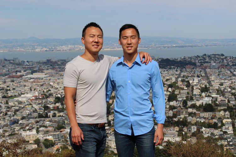 Yongjun Heo '09 and Jason Heo '15