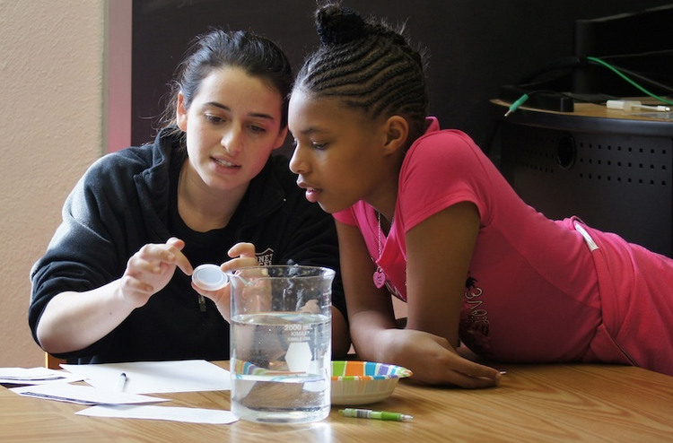 Among Swarthmore's array of activities and programs that serve local and global communities is Science for Kids