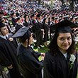 Class of 2016 at Commencement