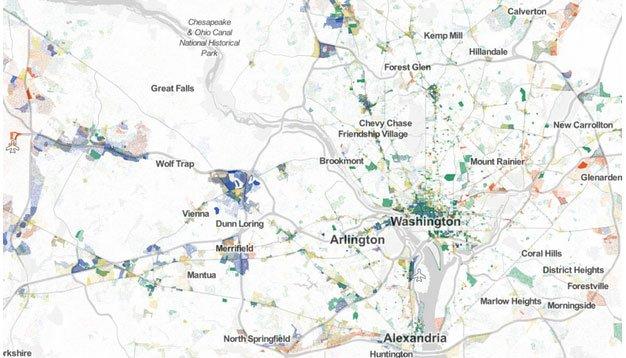 Job Map of DC
