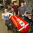 Students with their Eco Car
