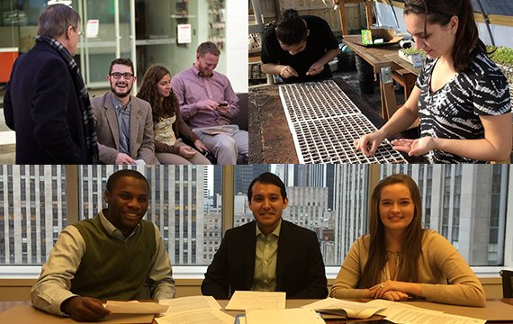 collage of student externs