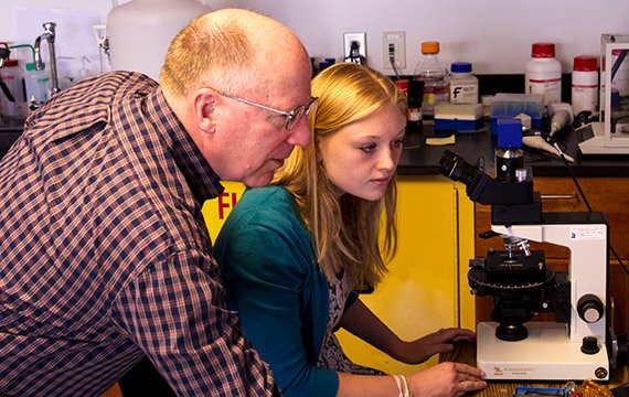 Swarthmore Professor and Students Plumb Depths of Liquid Crystals