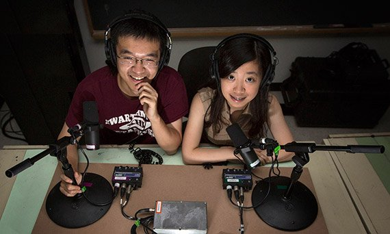 The Mandarin translation from Zhengyang Wang '14 and Chi Zhang '15 will be available to commencement guests and, via Web stream, people around the world.
