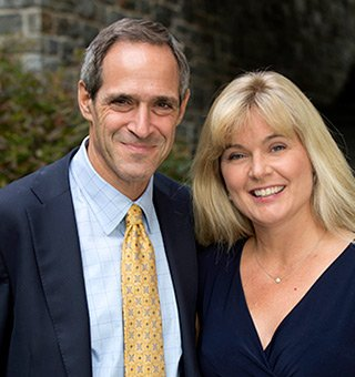 Barbara Klock '86 and Salem Shuchman '84