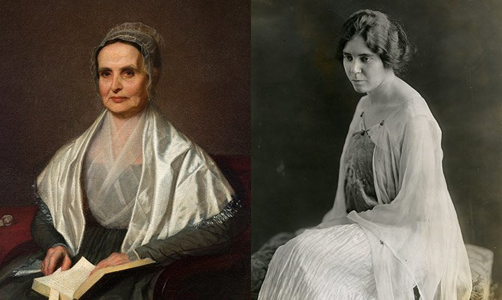 Lucretia Mott and Alice Paul, 1905