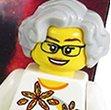 Nancy Grace Roman in Lego form