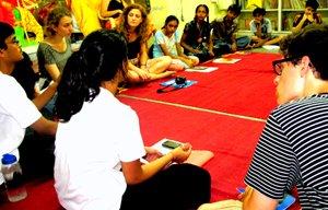 Riana leads an ITSA workshop