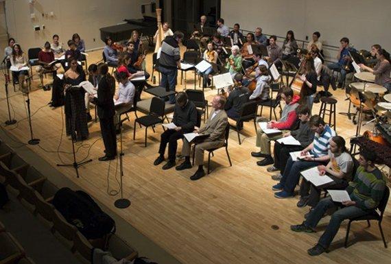 college orchestra