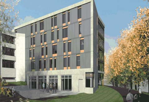 New Building Will Link Dana and Hallowell Dorms