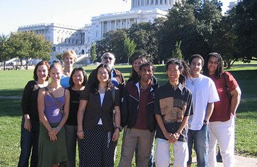 Evans Scholars in Washington, D.C.
