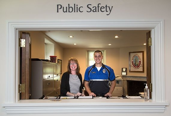 Public Safety in Benjamin West House