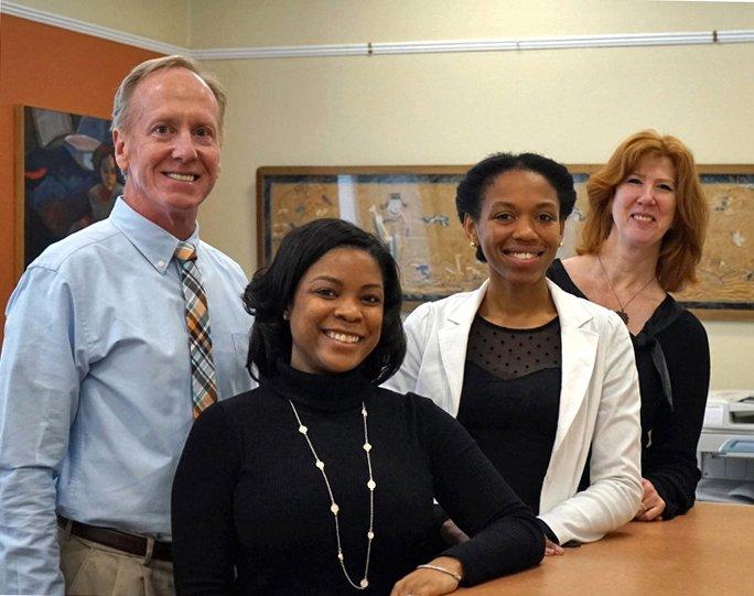 Photo of Registrar's Office staff.