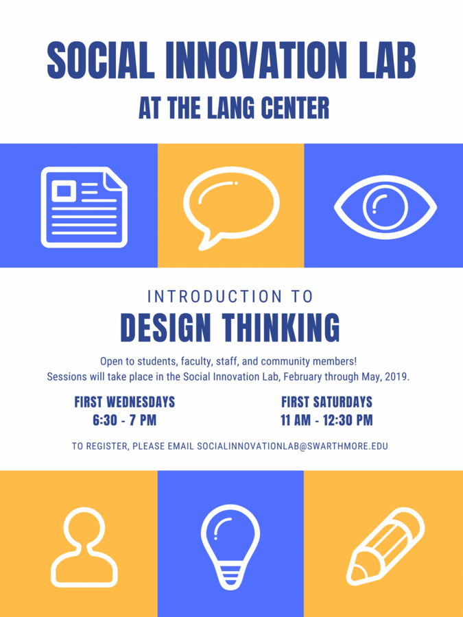 Design Thinking drop-in sessions are offered the first Wednesday and Saturday of each month. For more details, please contact Professor Crossan(dcrossa1).