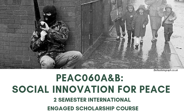 Social Innovation for Peace. 2 Semester International Engaged Scholarship Course.