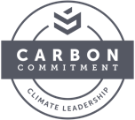 [Carbon Commitment Badge]