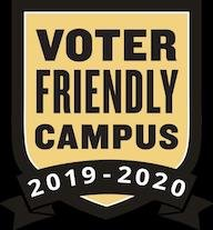 Voter Friendly Campus 2019-2020 Badge