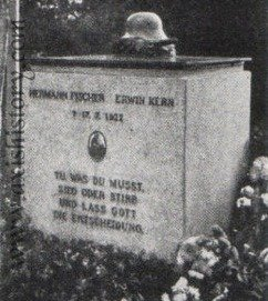 The grave of Hermann Fischer and Erwin Kern in Berlin