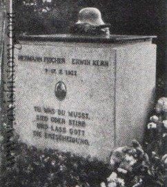 The grave of Hermann Fischer and Erwin Kern in Berlin