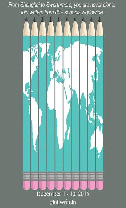 Flyer for Fall 2015 International Write-In