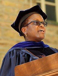 Valerie Smith. Photo by Princeton University, Office of Communications.