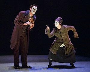 Actors perform
