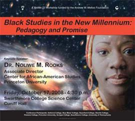 Swarthmore College Hosts Event on Future of Black Studies
