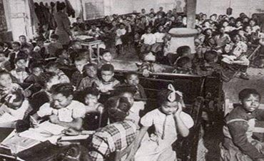 Segregated School, West Memphis, Arkansas, 1949