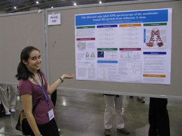 Laura Wang '10 presents at American Chemical Society's 2009 Undergraduate Physical Chemistry Symposium